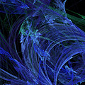 Blue Breeze Print by Andee Design
