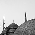 Blue Mosque, Istanbul Print by Dave Lansley