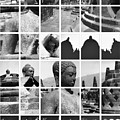 Borobudur in frame Print by Mario Bennet