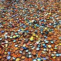 Bottlecap Alley Poster by David Morefield