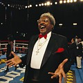 Boxing Promoter Don King In The Boxing Print by Maria Stenzel