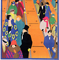 Brightest London is Best Reached by Underground Poster by Horace Taylor