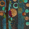 Bubble Tree - spc02bt05 - Right Print by Variance Collections