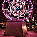 bucky ball Madison square park Print by John Farnan