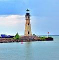 Buffalo Lighthouse Print by Kathleen Struckle