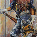 Buffalo Soldier Outfitted Print by Harvie Brown