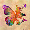 butterfly world map  Poster by Mark Ashkenazi