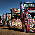 Cadillac Ranch Print by Lana Trussell