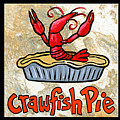 Cajun Food Trio Poster by Elaine Hodges