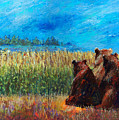 Can You See Whats Going On... Print by Arline Wagner