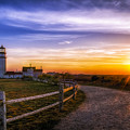 Cape Cod Light Print by Mark Papke