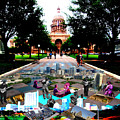 Capital Collage Austin Music Poster by James Granberry