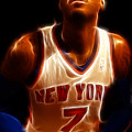 Carmelo Anthony - New York Nicks - Basketball - Mello Poster by Lee Dos Santos