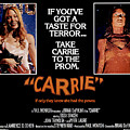 Carrie, Sissy Spacek, 1976 Poster by Everett