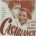 Casablanca Poster by Nomad Art And  Design