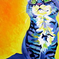 Cat - Here Kitty Kitty Poster by Alicia VanNoy Call