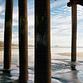 Cayucos Pier Print by Sharon Foster