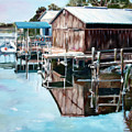Cedar Key Reflections 2 Print by Greg Morris