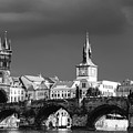 Charles Bridge Prague Czech Republic Poster by Matthias Hauser
