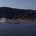 Charlotte Amalie at Dusk Poster by Gary Lobdell