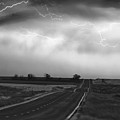 Chasing The Storm - County Rd 95 and Highway 52 - Colorado Print by James BO  Insogna