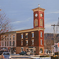 Chatham Clock Tower Print by Kenneth Young