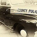 Chatham County Police Collage Poster by John Rizzuto