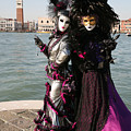 Christine and Gunilla Across St. Mark's  Poster by Donna Corless