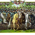 Civil War Generals and Statesman Poster by War Is Hell Store