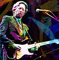 CLAPTON LIVE Poster by David Lloyd Glover