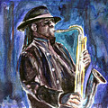 Clarence Clemons Poster by Clara Sue Beym