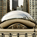 Cloud Gate - 3 Poster by Ely Arsha