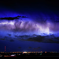Cloud to Cloud Lightning Boulder County Colorado Print by James BO  Insogna