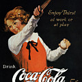 COCA-COLA AD, 1923 Poster by Granger
