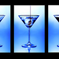 Cocktail Triptych Poster by Jane Rix