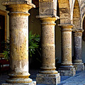 Colonnades Poster by Olden Mexico