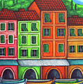 Colours of Liguria Poster by Lisa  Lorenz
