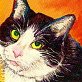 COMMISSION YOUR PETS PORTRAIT BY ARTIST CAROLE SPANDAU BFA ECOLE DES BEAUX ARTS  Poster by CAROLE SPANDAU