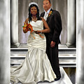 Commissioned Wedding Portrait  Print by Reggie Duffie