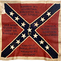 CONFEDERATE FLAG, 1863 Poster by Granger