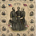 Confederate Generals of The Civil War Print by War Is Hell Store