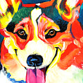Corgi - Chance Poster by Alicia VanNoy Call