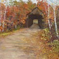Covered Bridge  Southern NH Print by Jack Skinner