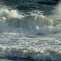 Crashing Wave Print by Sandy Keeton
