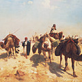 Crossing the Desert Print by Jean Leon Gerome