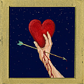 Cupids Arrow Print by Charles Harden