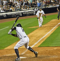 Curtis Granderson Poster by Andrew  Cragin
