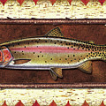 Cutthroat Trout Lodge Print by JQ Licensing
