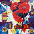 Dance of the Daisies Poster by Terry Honstead