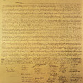 Declaration of Independence Print by American School